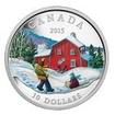 10 Dollar Stříbrná mince Zima PP