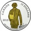 10 Dollar Silber 200. Geburtstag von Sir John A. Macdonald PP