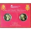 4 Euro CuNi Juan Carlos & Felipe UN