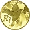 1 Rand Gold Miombonektarvogel PP