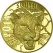 50 Rand Gold Natura Serie 2014 - Nachtjäger: Der Leopard PP