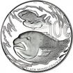 0,10 Rand Stříbrná mince Cymatoceps nasutus PP