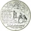 1 Rand Silber Protea - Das Leben von Nelson Mandela UN