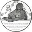 1 Rand Silber Protea - Nelson Mandela: Bildung PP