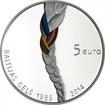 5 Euro Silber Baltischer Weg PP