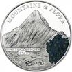 5 Dollar Silber Berge und Flora - Finsteraarhorn PP