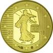 10 Euro Gold Säerin 2015 - Franc ? Cheval PP