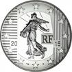 10 Euro Silber Säerin 2015: Franc ? Cheval PP