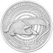 1 dolar Stříbrná mince Slané vody - krokodýl Bindi