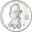 10 Euro Silber Otto von Bismarck PP