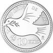 10 Euro Silber Europastern -70 Jahre Frieden PP