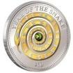 10 dolarů Stříbrná mince Rok hada s perlou PP