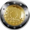 2 Euro Mince Evropská vlajka UN