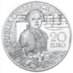 20 Euro Stříbrná mince Mozart - Zázračné dítě PP