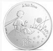 10 Euro Stříbrná mince Malý Princ - Neviditelný PP