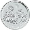 1 Dollar Stříbrná mince Rok opice 1 Oz PP