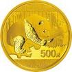 Sada zlatých mincí Panda 2016