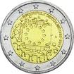 2 Euro CuNi Europaflagge A UN