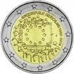 2 Euro CuNi Europaflagge J UN