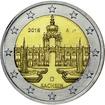 2 Euro CuNi Dresdner Zwinger A 2016 UN
