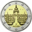 2 Euro CuNi Dresdner Zwinger F 2016 UN