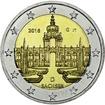 2 Euro CuNi Dresdner Zwinger G 2016 UN
