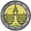 2 Euro CuNi Dresdner Zwinger J 2016 UN