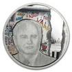 5 Dollar Stříbrná mince Svět zázraků - Pád Berlínské zdi PP