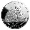1 Pfund Stříbrná mince Kočky - Selkirk rex PP