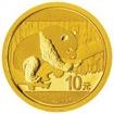Zlatá mince Panda 1 g - 2016