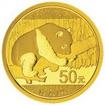Zlatá mince Panda 3 g - 2016