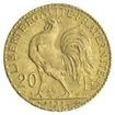 Zlatá mince 20 Franků