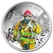 15 Dollar Stříbrná mince Hasiči PP