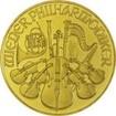 Zlatá mince Vídeňští filharmonici 1/2 Oz - Šilinková ražba