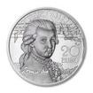 20 Euro Stříbrná mince Mozart - Genius PP