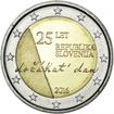 2 Euro CuNi Unabhängigkeit UN