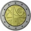 2 Euro CuNi Brücke des 25. April UN