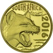 10 Rand Gold Nachtjäger: Fleckenhyäne PP