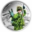 15 Dollar Stříbrná mince Voják PP