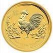Zlatá mince Rok kohouta 2017 1/20 Oz