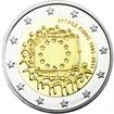 2 Euro CuNi 30 Jahre Europaflagge PP