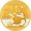 Zlatá mince Panda 30 g - 2017