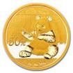 Zlatá mince Panda 3 g - 2017