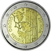 2 Euro CuNi Henrik von Wright UN