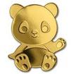 1 Dollar Zlatá mince -  Panda