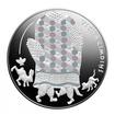 5 Euro Stříbrná mince Pohádky - Stará rukavice PP