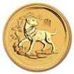Zlatá mince Rok psa 2018 1000 g