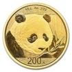 Zlatá mince Panda 15 g - 2018