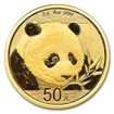 Zlatá mince Panda 3 g - 2018
