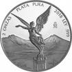 2 Oz stříbrná mince Libertad  PP 2018